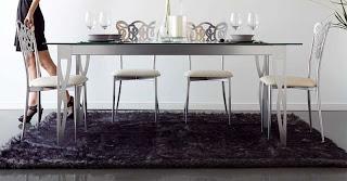 mesa comedor forja, mesa forja decorativa, mesa de 3 tamaños para comedor, mesas forja grandes, salones de forja, comedor de forja