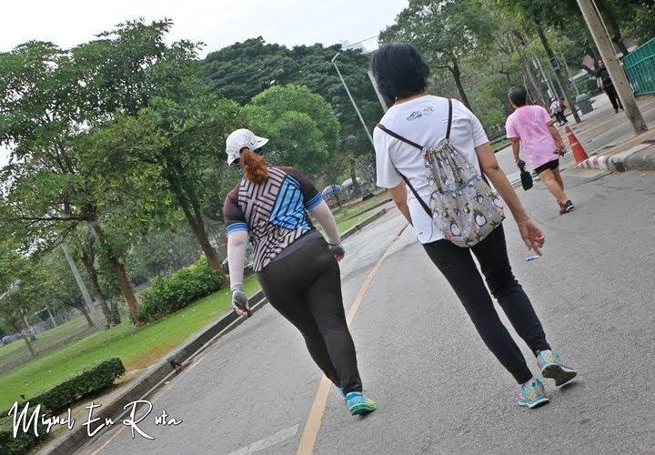 Paseando en el Parque Lumpini, Bangkok