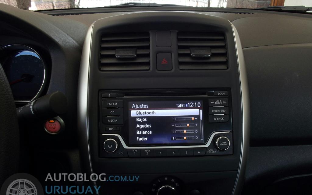 Prueba: Nissan Versa 1.6 Advance M/T : Autoblog Uruguay ...