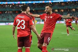 Swiss Kalahkan Turki 3-1, Xherdan Shaqiri Jadi Pembeda di Laga Euro 2020