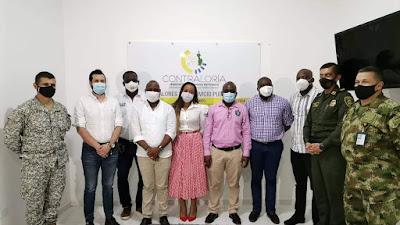 Ante delegados del Ministerio de Defensa, y con el apoyo de la Contraloría del Chocó, cinco alcaldes impulsan una política conjunta de seguridad para sus municipios.