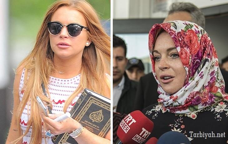 Lindsay Lohan masuk Islam?