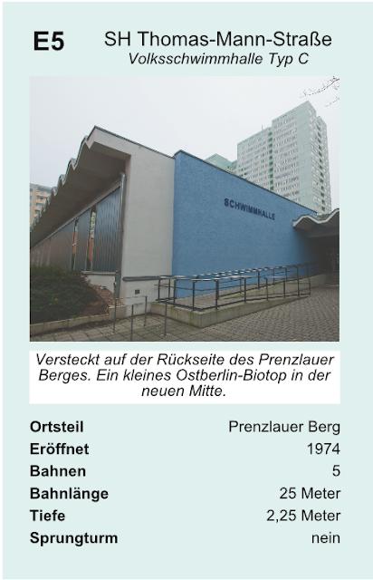 Quartettkarte Schwimmhalle Thomas-Mann-Straße
