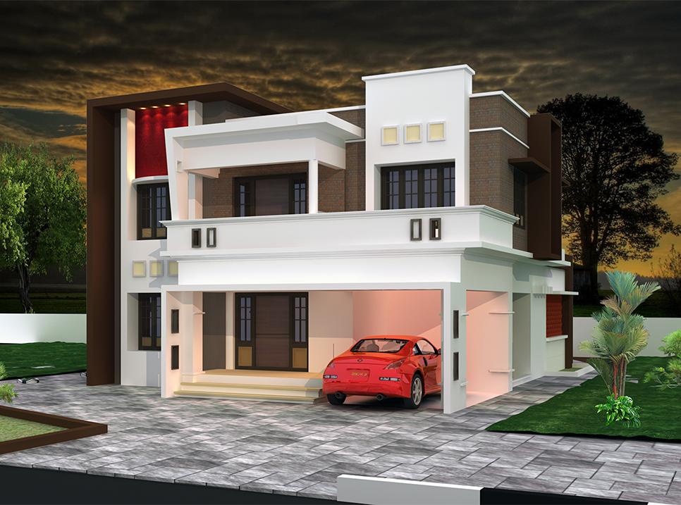 2900 sqft 5BHK Kerala plans