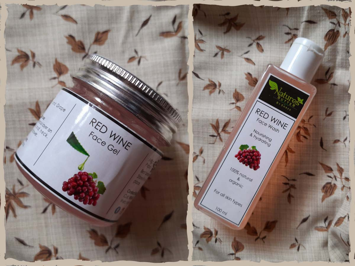 Natures Butter by Shree Red Wine Infused Skincare