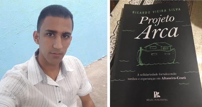 Altaneirense Ricardo Vieira escreve livro sobre o Projeto ARCA