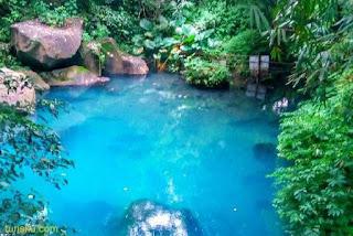 Situ Biru Cilembang Sumedang Indonesia