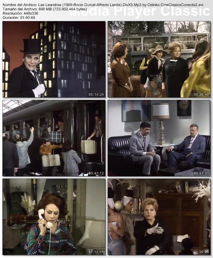 Las leandras | 1969 | Con Rocio Durcal y Alfredo Landa
