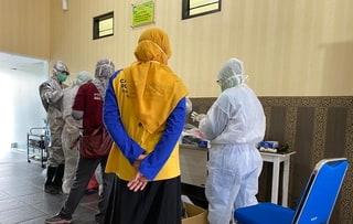 Hari Ini Dinkes Kabupaten Kediri Tes Swab 56 Pasien
