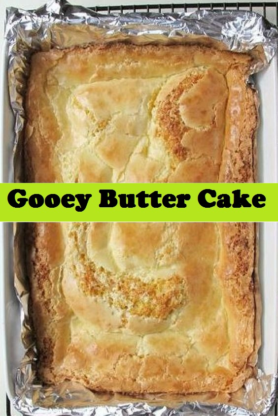 Easy Gooey Butter Cake Recipe