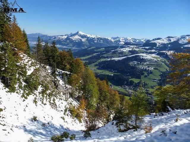 Kitzbüheler Horn hinter Kirchberg - Wandern kitzbuheler alpen tirol - outdoor blog