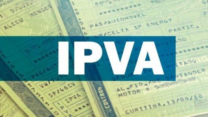 Pagamento da 4ª parcela do IPVA 2021 começa nesta terça