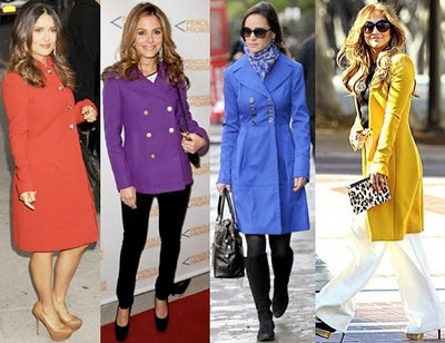Bright Idea in coats for Spring
