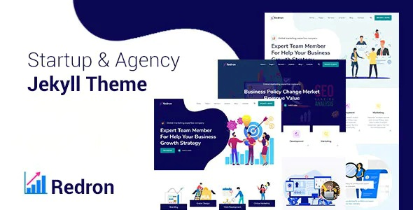 Best Startup and Agency Bootstrap 5 Jekyll Theme