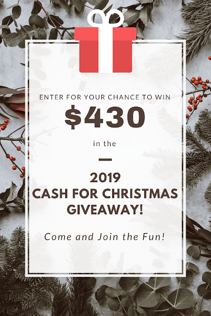 $430 cash Christmas Giveaway 2019
