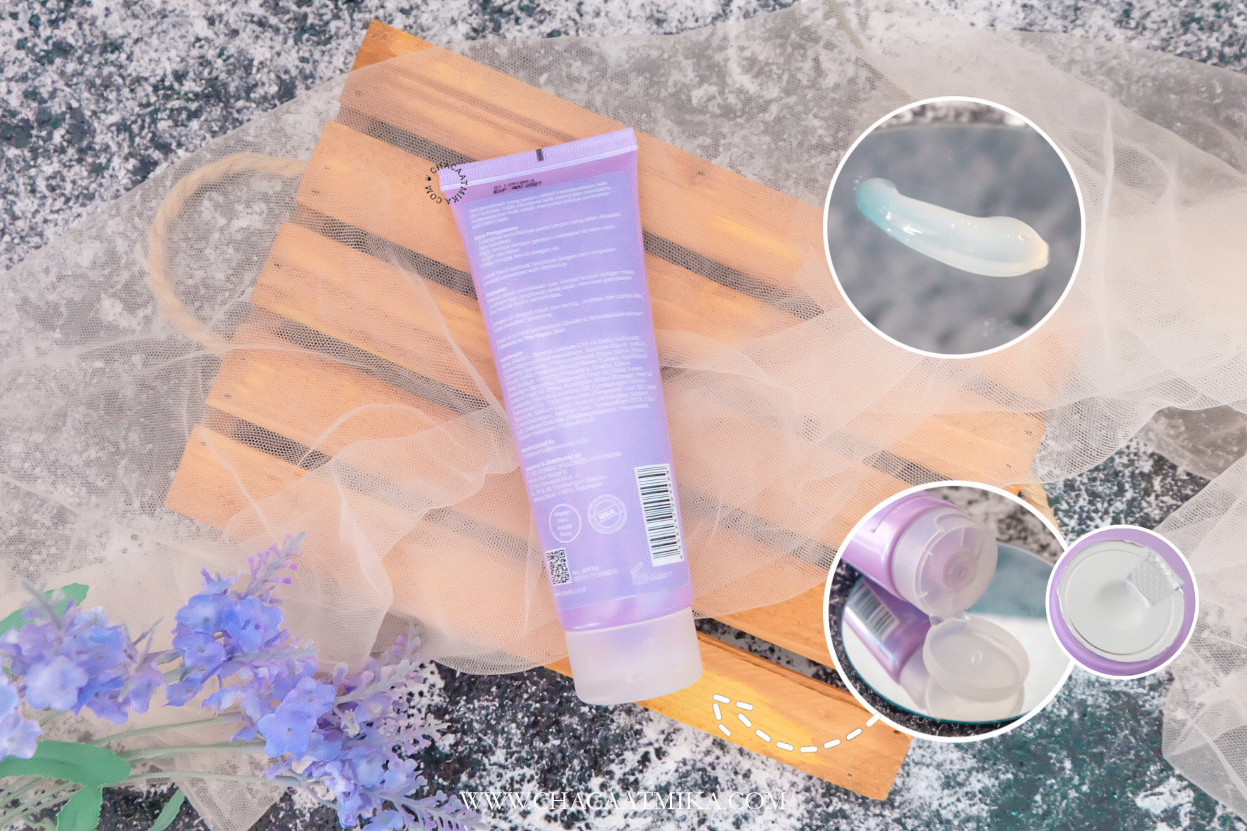 Review Clinelle WhitenUp Brightening Cleanser