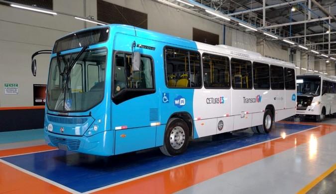 146 novos ônibus Volkswagen passam a fazer parte do Sistema de Transportes Metropolitano de Vitória