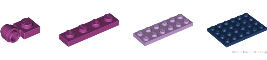 NEW LEGO Part Number 93273 in a choice of 12 colours