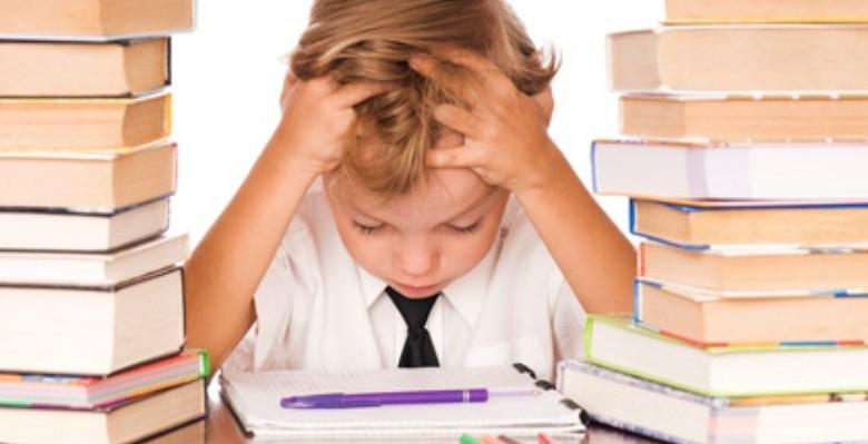 Genieten en spelen tijdens huiswerk