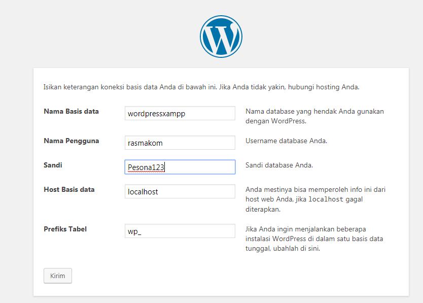 Cara Install WordPress Localhost di Xampp