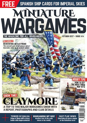 Miniature Wargames 414, October 2017