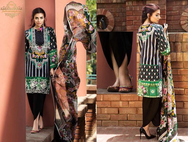 SO KAMAL Premium and  Digital Lawn Collection 2016 www.fashionwearstyle.com