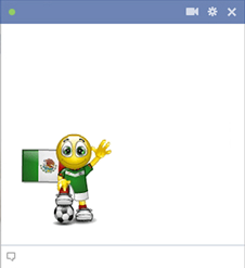 Mexico football smiley