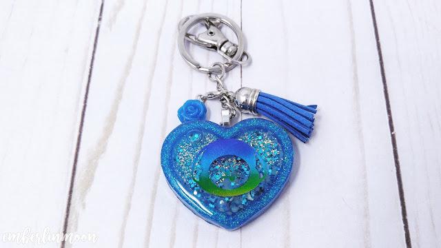 The Charming Mermaid BT21 Chimmy Key-Chain