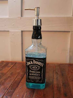 DIY Whiskey Bottle Soap Dispenser