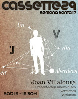 Concierto de Joan Villalonga en Cassette 29