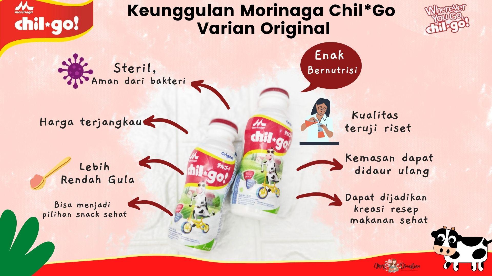 Keunggulan Morinaga Chil*Go! Rasa Original