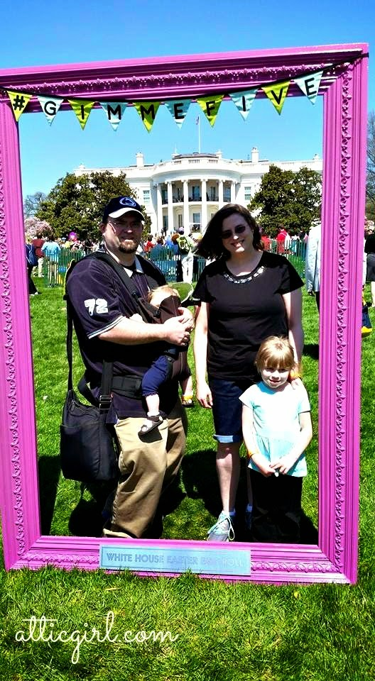 2015 White House Easter Egg Roll, DC monuments, The White House, President Obama, Michelle Obama, #GimmeFive