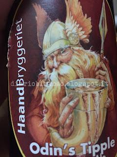 Haandbryggeriet Odin's Tipple birra recensione diario birroso