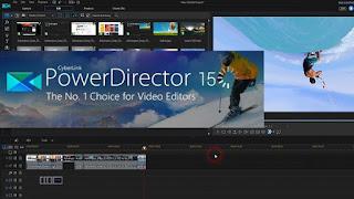 Perangkat Lunak Pengeditan Video PowerDirector CyberLink
