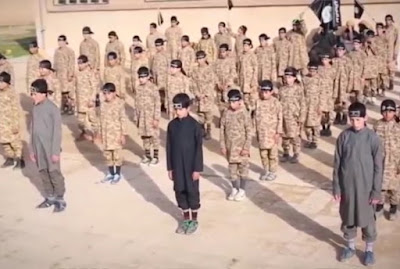 ISIS trains Yazidi Kids to be suicide bombers
