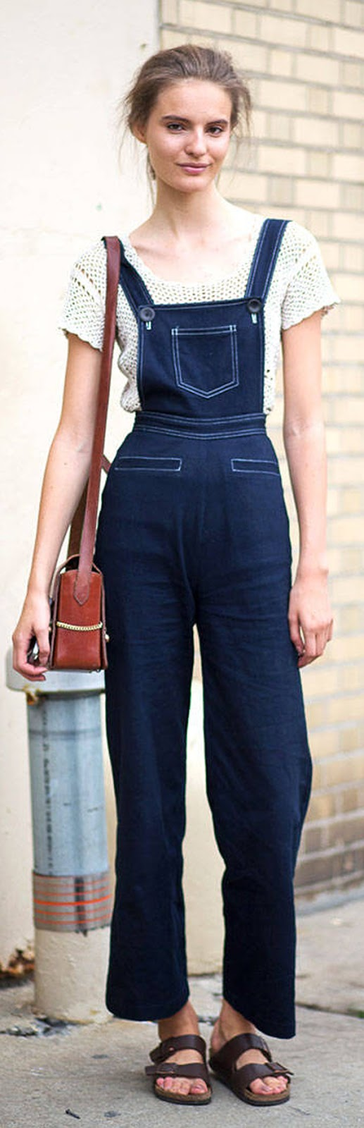 denim cute overalls idea