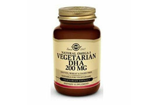Viên thuốc bổ sung dha Solgar Vegetarian DHA 200mg