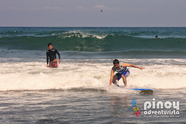 Surfing in La Union Philippines