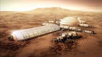 Mars yüzeyindeki bir koloni tasarımı