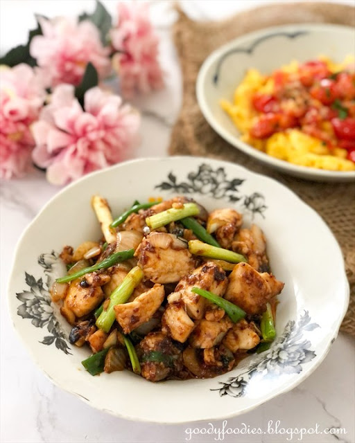 Stir Fried Fish Fillet with Spicy Black Bean Sauce