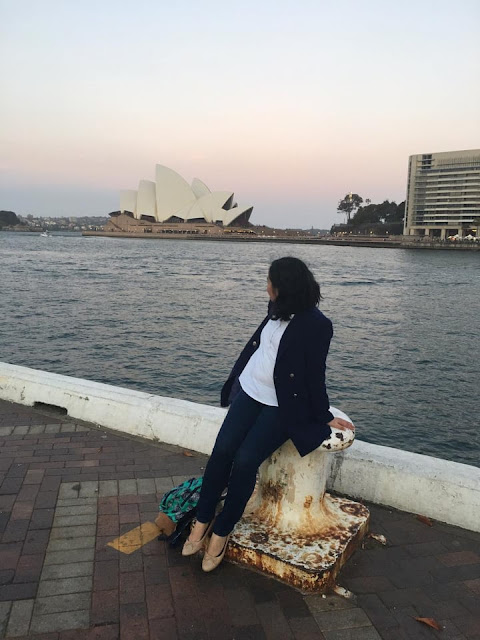 cindy of kuripot adventrue in Sydney australia 2019