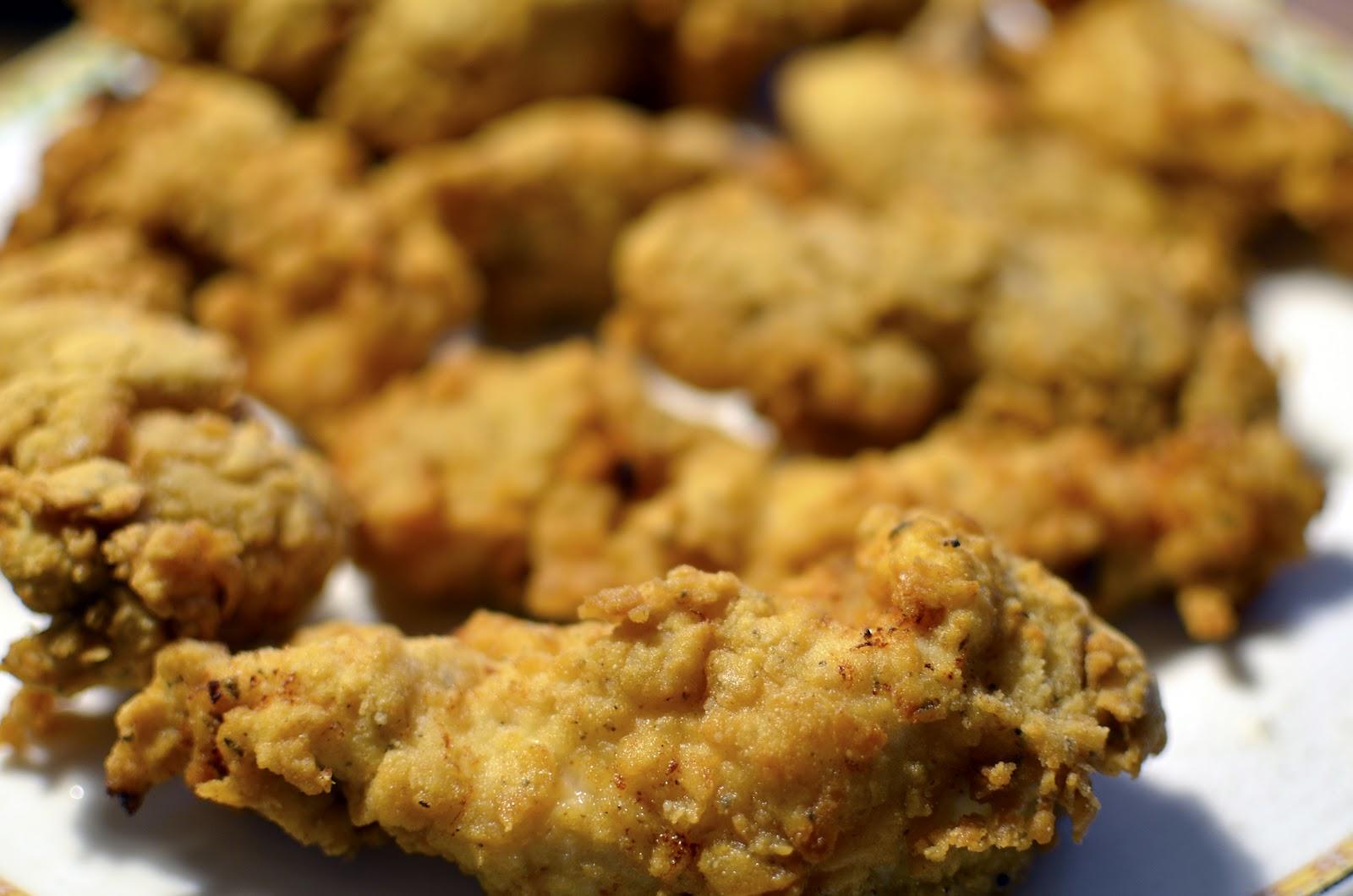 crispy kylling opskrifter