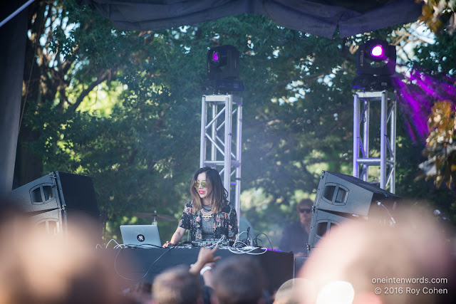 Tokimonsta at Time Festival, August 6, 2016 Photo by Roy Cohen for One In Ten Words oneintenwords.com toronto indie alternative live music blog concert photography pictures