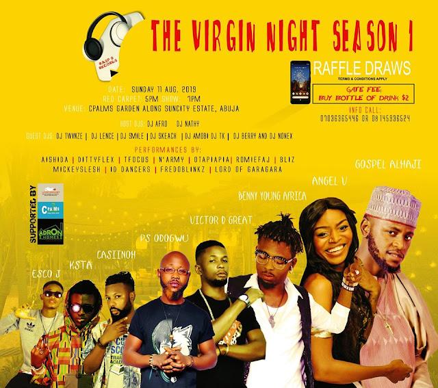 The Virgin Night Season Host Benny Africa & Victor D Great