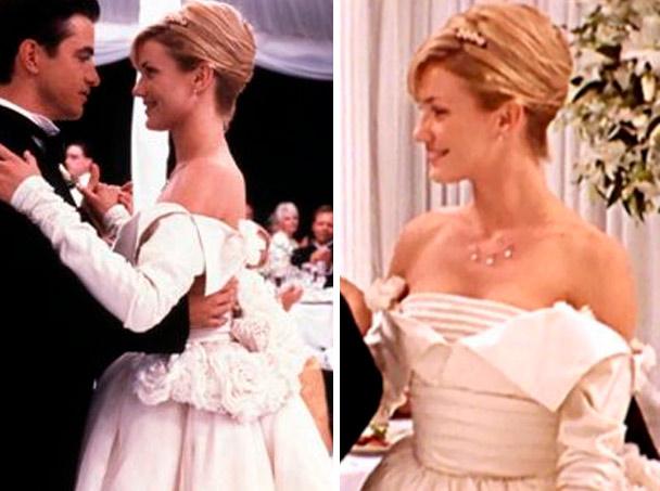 cameron diaz noiva em o casamento do meu melhor