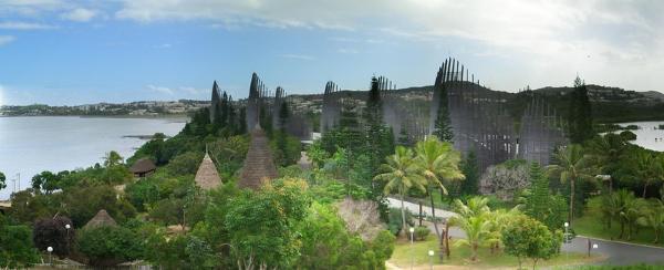 Renzo Piano-architettura-Nuova Caledonia-centro culturale