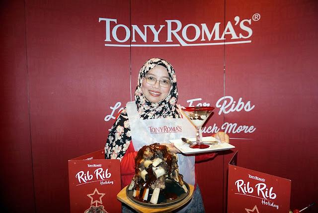 Sambut Hari Jadi Dengan Menu Rib Rib Holiday Di Tony Roma's