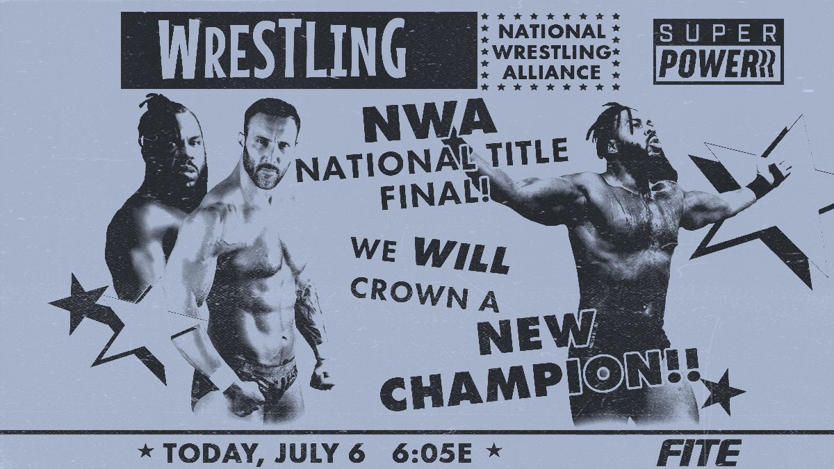 Cobertura: NWA Powerrr (06/07/2021) – Questão de honra!