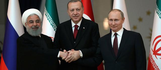 Ρωσία, Τουρκία και Ιράν συμφώνησαν στην έναρξη στρατιωτικών επιχειρήσεων κατά του YPG!