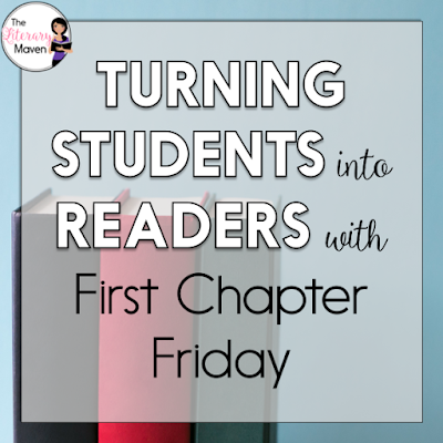If you'd like to add read alouds to your secondary English Language Arts classroom, but you aren't sure that you want to commit to reading an entire novel, why not try out First Chapter Friday and expose your students to a variety of high interest books? In this #2ndaryELA Twitter chat, middle school and high school English Language Arts teachers discussed how they select the books to spotlight, how it fits into their classroom routine, and what to do after reading. Read through the chat for ideas to implement in your own classroom.